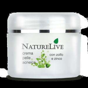 Naturelive crema pelle acneica