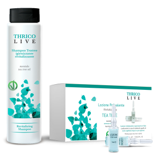 Tea tree shampoo e tea tree fiale